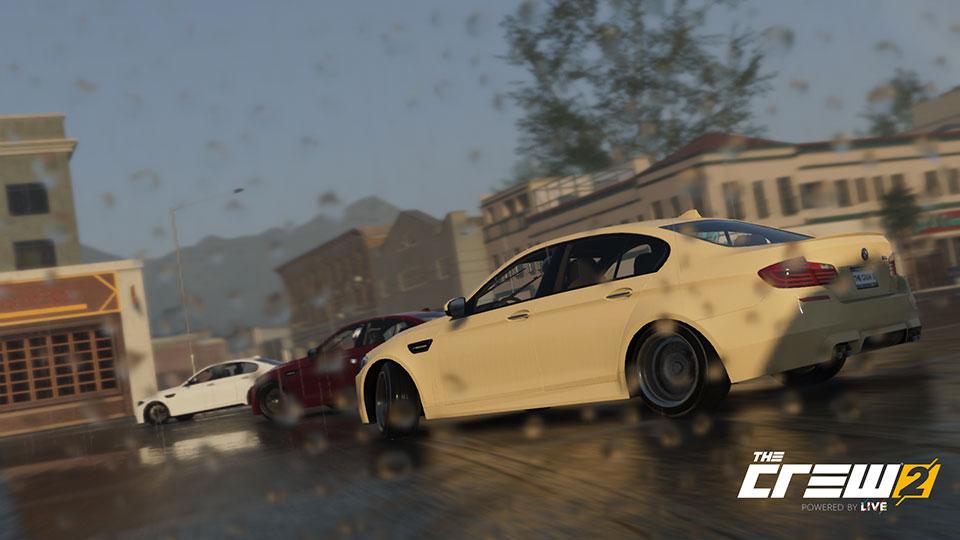 BMW M5 ドリフト