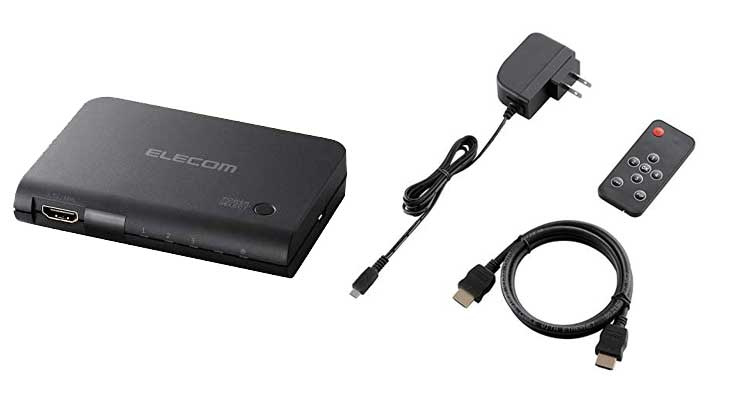 エレコム HDMIセレクター