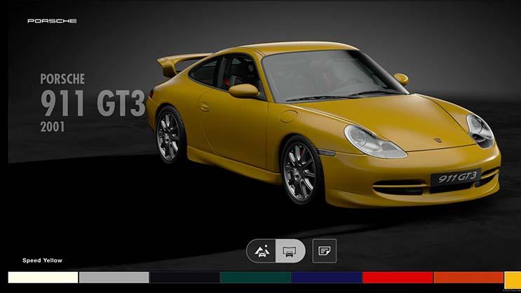 ポルシェ911 GT3 996