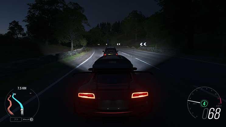 夜ライト画像
