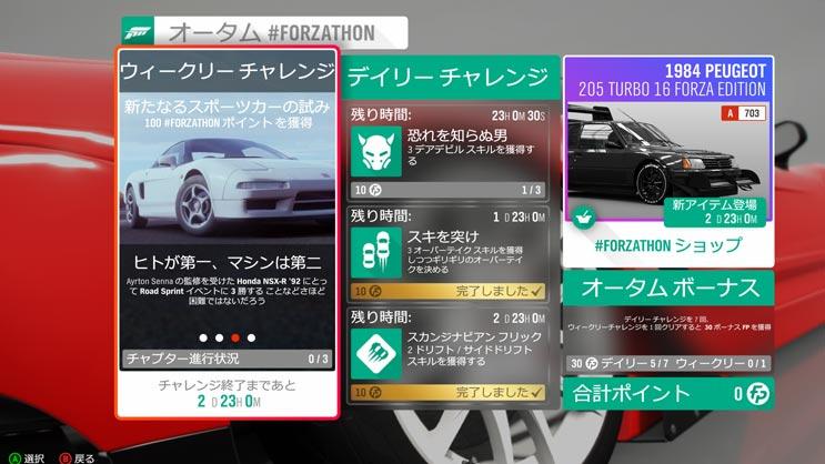 Forzathonショップ