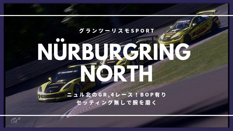 グランツーリスモSPORT ニュル北レース