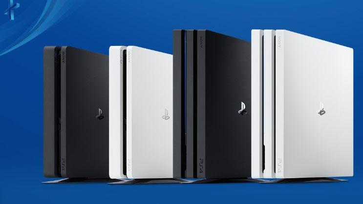 PS4の型番違い