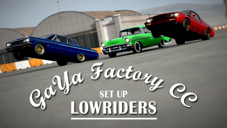Forza Motorsport 7 ローライダー車両でホッピング