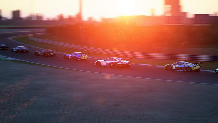 夕方レース