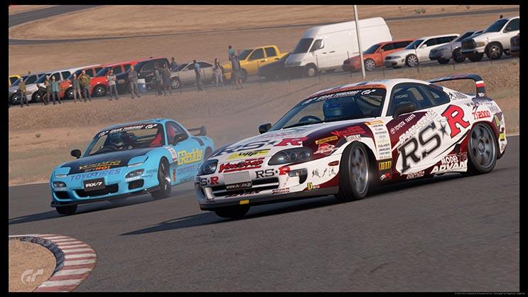 GT日本車ドリフト