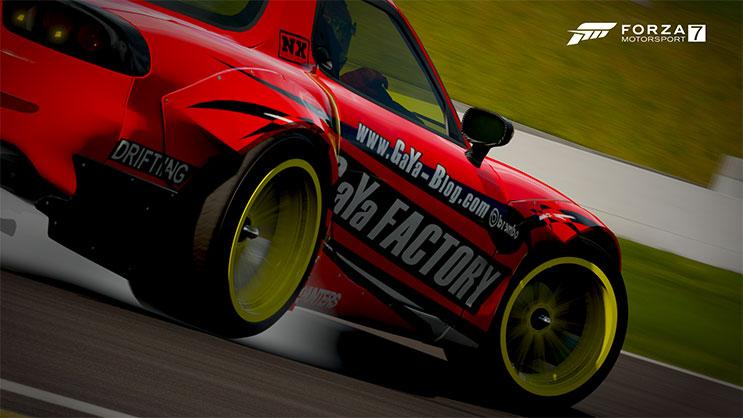 Forzaタイヤアップ