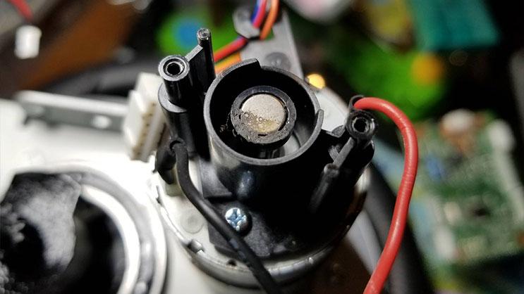 磁気センサー汚れ