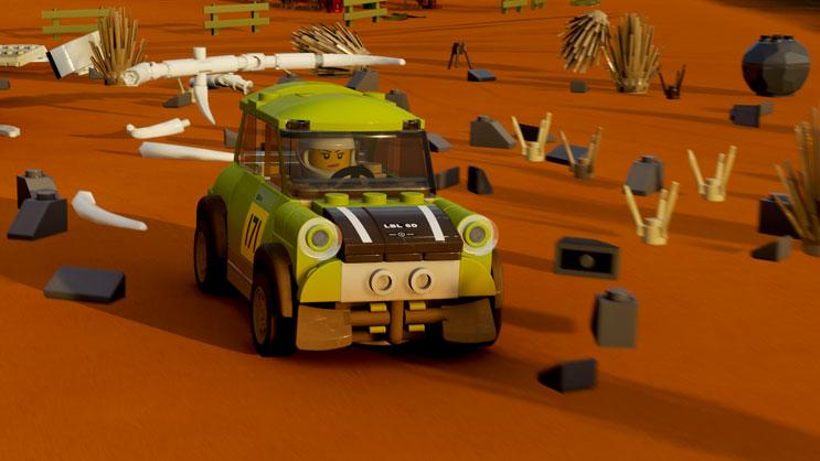 LEGO車破損表現