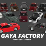 【Assetto Corsa】GAYA STREET DRIFT CAR PACK v1.2 Download & Rules
